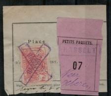 FEF-189  GRAND CENTRAL BELGE    HASSELT Op Fragment Met HASSELT   Naar NEEROETEREN - Railway