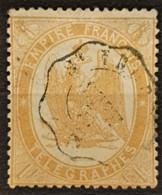 FRANCE 1868 - Canceled - YT 7 - 1F - Télégraphe - Télégraphes Et Téléphones