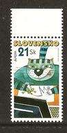 "ESLOVAQUIA/ SLOVAKIA/ SLOWAKIEN  - EUROPA 2008 -Tema:""LA CARTA ESCRITA - WRITING LETTERS"".-SERIE De 1 V. - N - 2008"