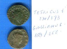 Tetricus  270 /273  Gallienus  259 268 - 5. La Crisis Militar (235 / 284)