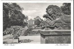 Halle (Saale) - Am Stadttheater  V. 1937 (3347) - Halle (Saale)