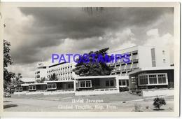 132057 DOMINICAN REPUBLIC DOMINICANA TRUJILLO HOTEL JARAGUA POSTAL POSTCARD - Ohne Zuordnung