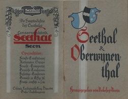 Seethal & Oberwynenthal               Ca. 1950 - Livres, BD, Revues