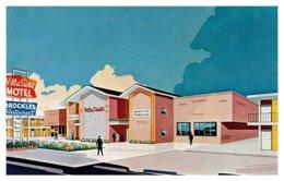 Texas  Dallas Villa Siesta Motor Hotel - Postcards