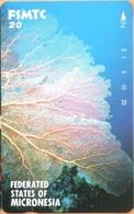 MICRONESIA - FM-FSM-0008, Tamura FSMTC Card, Underwater Scenes - Fan Coral, 20 Units, 5/92, Mint - Micronésie