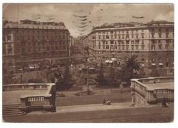 5437 - GENOVA PIAZZA TOMASEO ANIMATA 1942 - Genova (Genoa)