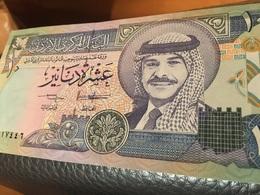 See Photos. Jordan Banknote 10 Dinars 1992 UNC - Jordanië