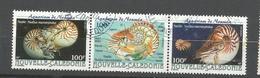 840/42  Nautiles   Assez Rare   Se Tenant                (clasyverouge22) - Nuova Caledonia