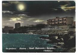 5457 - MANFREDONIA FOGGIA RIVIERA HOTEL RISTORANTE GARGANO NOTTURNO 1964 - Manfredonia