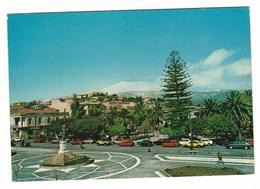 5479 - TRECASTAGNI CATANIA PIAZZA GUGLIELMO MARCONI 1970 CIRCA Animata Auto Car - Andere Steden