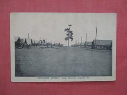 Artillery Street     Camp Hancock      Georgia > Augusta   Ref 3976 - Augusta