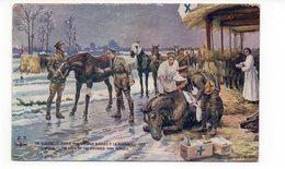 En Guerre - Soins Aux Chevaux Blessés à La Guerre - Animée (Z118) - Guerre 1914-18