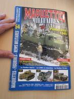 AVICOV Revue De Maquettisme Plastique MAQUETTES MILITAIRES N°54 De 2008 , Valait 6.20 €; Sommaire En Photo 3 ; TB état - Revues