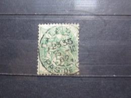 """VEND BEAU TIMBRE DE FRANCE N° 111 , OBLITERATION """" CALAIS """" !!! - 1900-29 Blanc"""