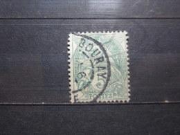 "VEND BEAU TIMBRE DE FRANCE N° 111 , OBLITERATION "" BOURAY "" !!! - 1900-29 Blanc"