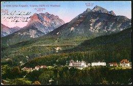Switzerland - Graubünden Canton: Unter Engadin - Vulpera, Walhaus  1931 - Suisse