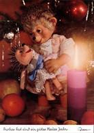 Mecki (Diehl-Film): Frohes Fest, Neues Jahr, Puppe Weihnachtsbaum 1970 - Mecki