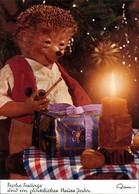 Ansichtskarte  Mecki (Diehl-Film): Weihnachtsgeschenke Kerze Und Pfeife 1975 - Mecki