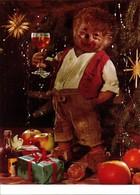 Ansichtskarte  Mecki (Diehl-Film): Weihnachten Punsch Und Geschänke 1975 - Mecki