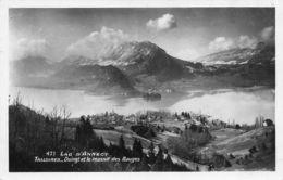 Lac D'Annecy (74) - Talloires - Duingt Et Le Massif Des Bauges - Francia