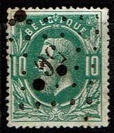 30  Obl  LP 56  Bree  + 8 - 1869-1883 Léopold II