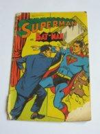 SUPERMAN Et BAT-MAN  N°6    **** EN ACHAT IMMÉDIAT **** - Superman