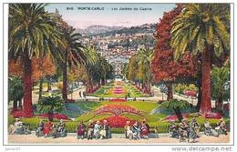 Monté-Carlo, Les Jardins Du Casino, Animée - Monaco