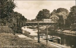 Ansichtskarte Lichterfelde-Berlin Teltow-Kanal, Straßenbahn 1928 - Lichterfelde