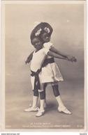 BAD-  LE CAKE - WALK  DANSE AU NOUVEAU CIRQUE  LES ENFANTS NEGRES  CARTE PHOTO - Entertainers