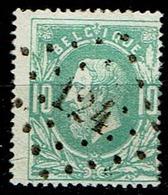 30  Obl  LP 124  Feluy-Arquennes  + 10 - 1869-1883 Leopold II.