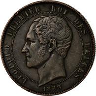 Monnaie, Belgique, 10 Centimes, 1853, TTB, Cuivre, KM:1.1 - 1831-1865: Leopold I