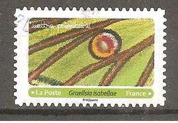 FRANCE 2020 Y T N ° 1??? Oblitéré CACHET ROND Ailes De Papillons - Oblitérés