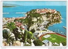 Monaco, Le Port, Le Rocher, Et Le Stade - Monaco