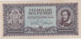 Hongrie - Billet De 10000000 Pengo 10 Millions - Lajos Kossuth - 24 Mai 1946 - P129 - Hungary
