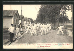CPA Joinville-le-Pont, Ecole Normale De Gymnastique Et D`Escrime, Camp St-Maur, Assaut De Heuret - Joinville Le Pont