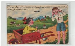 03 VICHY CLIENT PRESSE TAXI CARTE A SYSTEME - Vichy