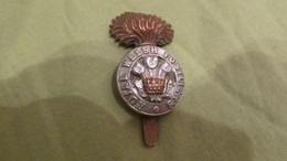 WW1 British Royal Welsh Fusiliers Cap Badge - 1914-18