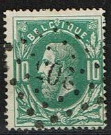30  Obl  LP  205  Lanaeken  + 8 - 1869-1883 Leopold II.