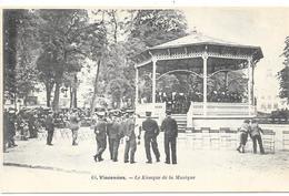 VINCENNES : LE KIOSQUE DE LA MUSIQUE - Vincennes