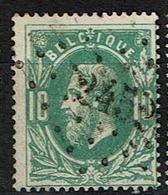 30  Obl  LP  245  Messancy  + 12 - 1869-1883 Léopold II