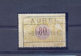 Nr.TR24 Stempel AUBEL - Chemins De Fer