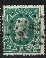 30  Obl  LP  258  Moustier  + 5 - 1869-1883 Leopold II.
