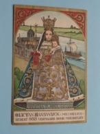 O.L.V. Van HANSWIJCK ( Mechelen ) Sedert 988 Vermaard Door Mirakelen ( KAVALKADE 1963 ) Formaat 8 X 12 Cm. ! - Religion & Esotérisme