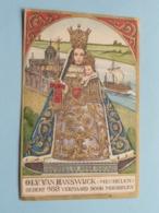 O.L.V. Van HANSWIJCK ( Mechelen ) Sedert 988 Vermaard Door Mirakelen ( GEBED VOOR AUTO- En MOTORRIJDERS ) ! - Religion & Esotérisme