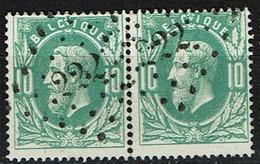 30 Paire  Obl  LP  222  Lokeren  +4 - 1869-1883 Léopold II