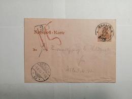 Deutsches Reich  Rohrpost-Karte 1903 - Allemagne
