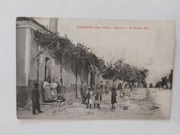 Baudens (la Grande Rue) Le 14 06 1919 Algérie - Otras Ciudades