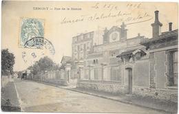 ERMONT : RUE DE LA STATION - Ermont