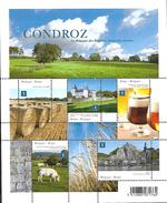 Belg. 2012 - COB N° 4280 à 4284 ** - Le Condroz (bloc 202) - Ungebraucht