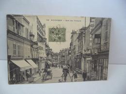 95. AUXERRE 89 YONNE RUE DU TEMPLE CPA DESAIX 10 AVENUE J. JAURES PARIS - Auxerre